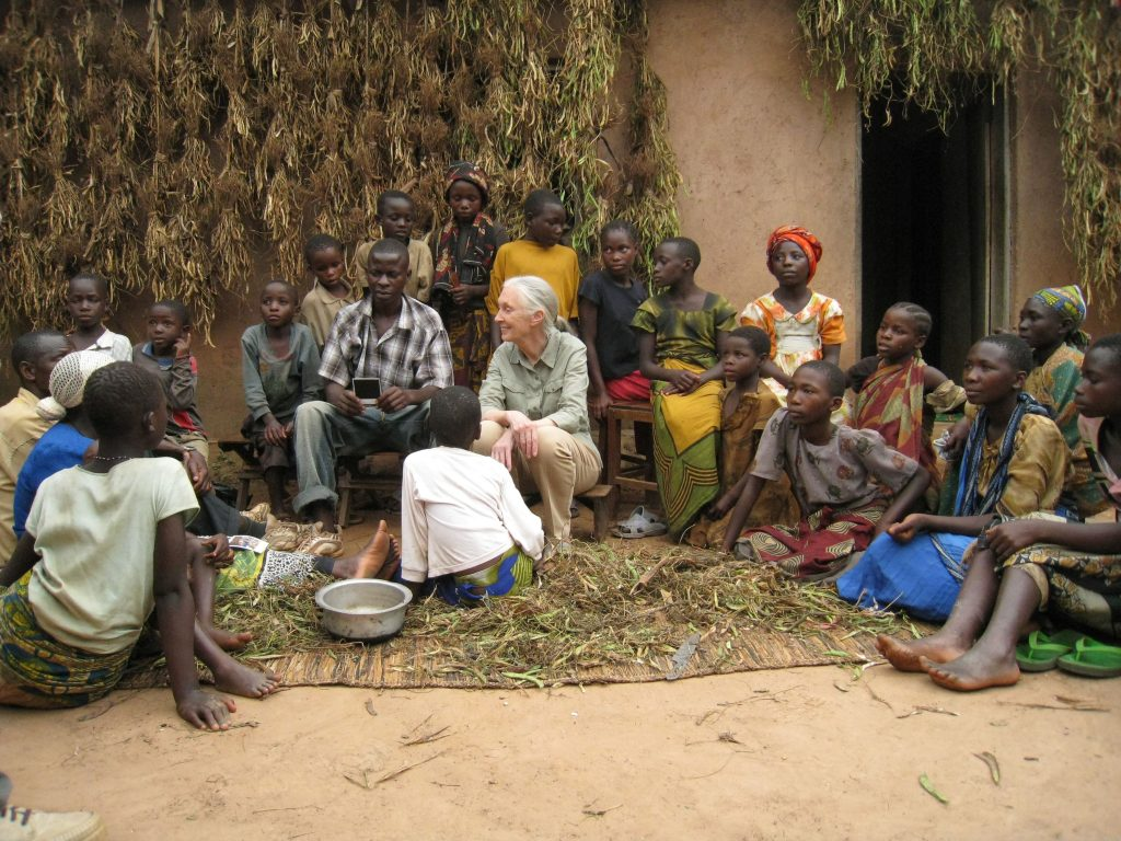 "Shooting ""Janes's Journey"", Tansania 1/2008 with Jane Goodall"