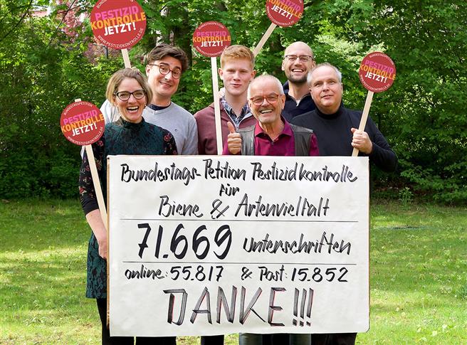 Das Team der Pestizidkontroll um Thomas Radetzki
