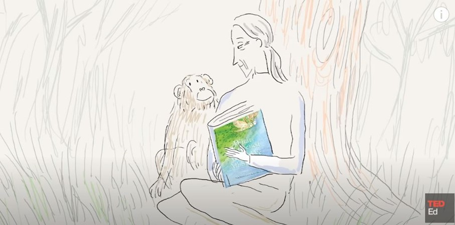 """""""What happened when it all stopped"""" erzählt von Jane Goodall"""